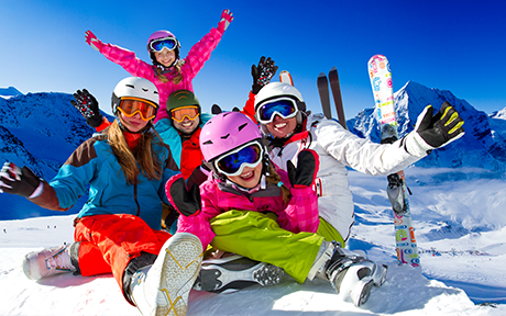 Family-friendly skiing in Europe