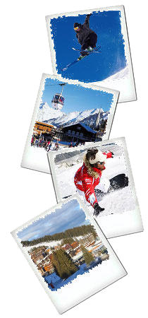 courchevel polaroids